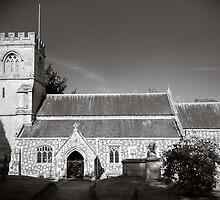 St Georges Church Preshute England by mlphoto