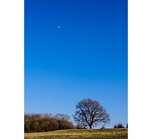 Blue Sky Day England Photographic Print