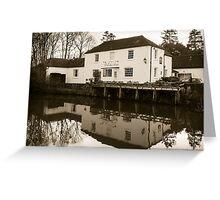 Dundas Arms Kintbury England Greeting Card