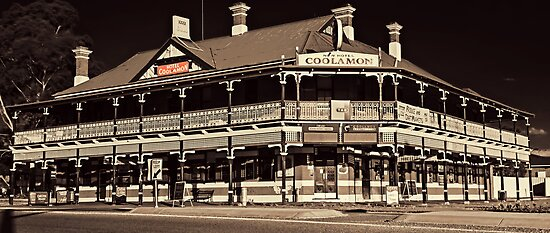 Coolamon Hotel, Rural Watering Hole by bazcelt