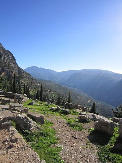 Delphi, Greece by Eleanor11