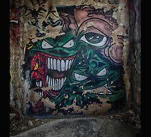 Nightmare Graffiti by Dan  Wampler