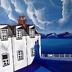 Fishermans cottages & Loch Broom Ullapool,Scotland by Yorkspalette