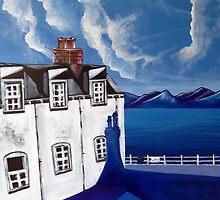 Fishermans cottages & Loch Broom Ullapool,Scotland by Yorkspalette