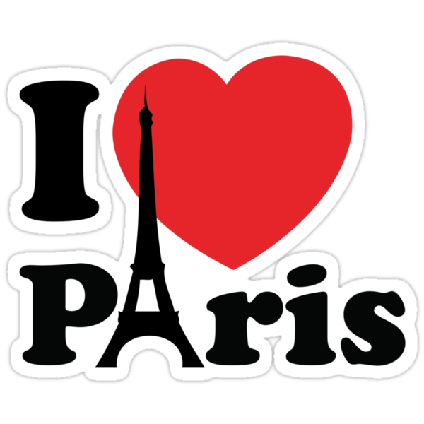 I Love Paris by BrightDesign
