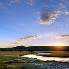 The End of a Long Day at Yellowstone by RedskinzFan