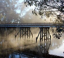 The Old Goulburn River Bridge by Robert Jenner