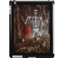Graffiti Skeleton Welcome iPad Case/Skin