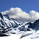 The Swiss Alps by Laurie Puglia