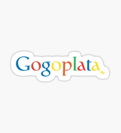 Gogoplata Sticker