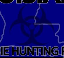 Louisiana Zombie Hunting License Sticker