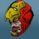 Shrunken Iron Man by ghostfreehood