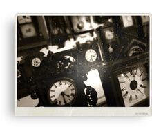 Following Time Canvas Print