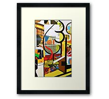 Abstract #17 Framed Print