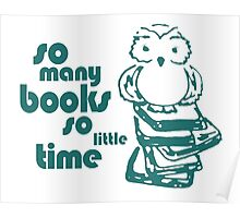 Book Owl Poster