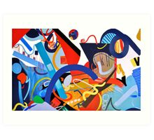 Abstract Interior #9 Art Print
