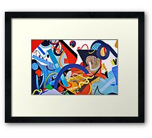 Abstract Interior #9 Framed Print