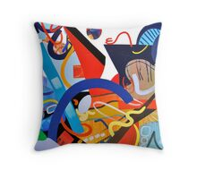 Abstract Interior #9 Throw Pillow
