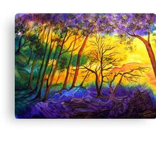 Sunkissed Valley  Canvas Print