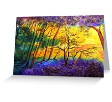 Sunkissed Valley  Greeting Card