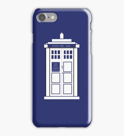 The Tardis in a Phone  iPhone Case/Skin