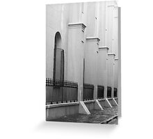 French Quarter Corridor Greeting Card