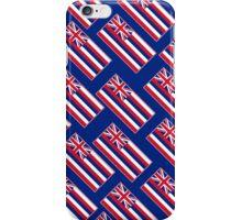 Smartphone Case - State Flag of Hawaii  - Blue Diagonal iPhone Case/Skin