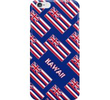 Smartphone Case - State Flag of Hawaii  - Blue Diagonal Named iPhone Case/Skin