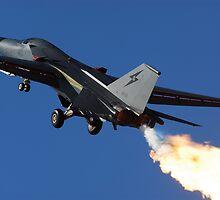 F-111 Light-em Up by marty1468