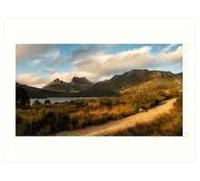 Dove Lake Lightshow Art Print