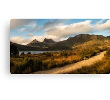 Dove Lake Lightshow Canvas Print