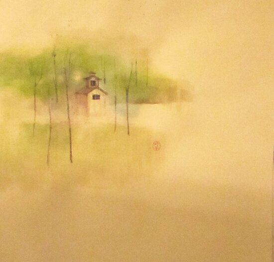 the house in the swamp  * special order prints: tokikoandersonart@gmail.com by TokikoAnderson