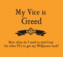 My Vice is Greed by Serenity373737