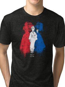 Samurai tag Tri-blend T-Shirt