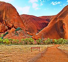 Uluru - Painted by Julia Harwood