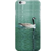Canada Goose On Shimmering, Shimmering Water iPhone Case/Skin