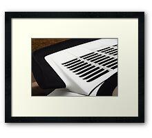 Rear Deck Framed Print