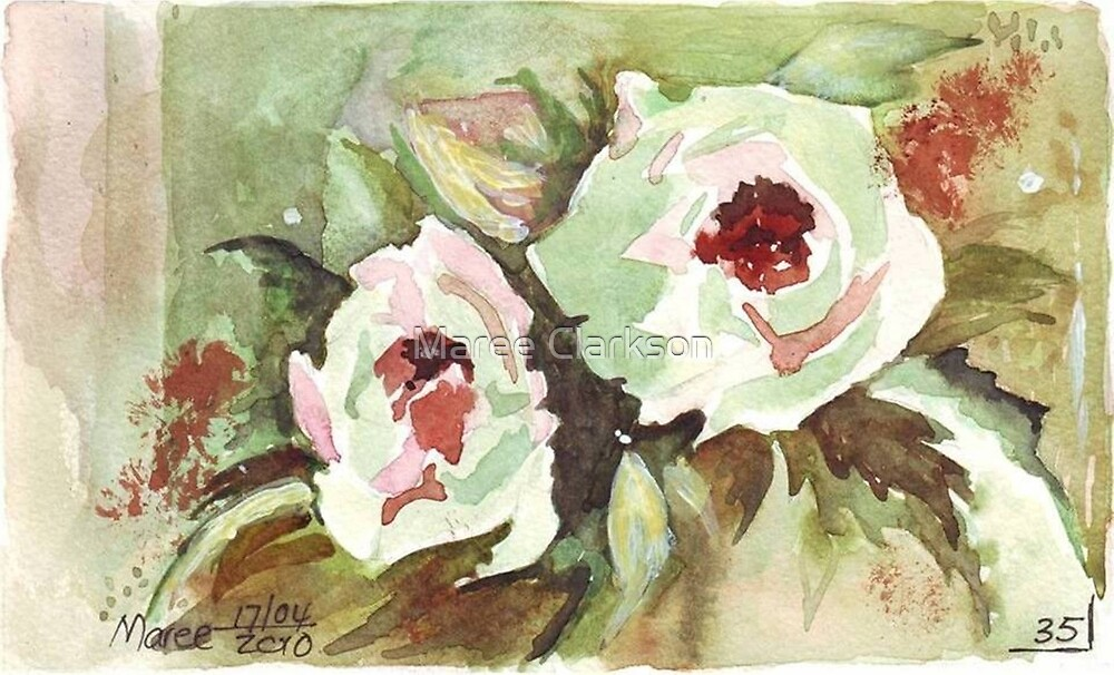 Autumn Roses by Maree Clarkson