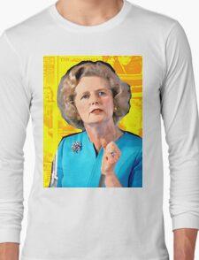 Margaret Thatcher Long Sleeve T-Shirt
