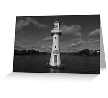 Lighthouse at Roath Park Greeting Card