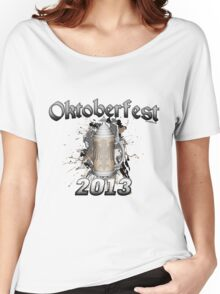 Oktoberfest Beer Stein 2013 Women's Relaxed Fit T-Shirt