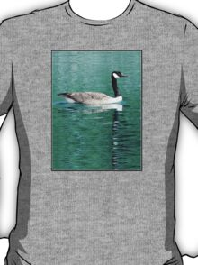 Canada Goose On Shimmering, Shimmering Water T-Shirt