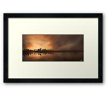 Boston Morning Framed Print
