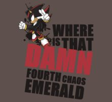 Shadow the Hedgehog: Where Is That Damn Fourth Chaos Emerald by Liam Hole