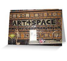 Art4Space/Mosaic tiles -(010513)- Digital photo/FujiFilm FinePix AX350 Greeting Card