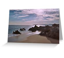 Sunset in Cabo San Lucas in Mexico Greeting Card