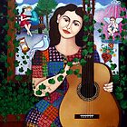Violeta Parra and the song Back at 17 - Volver a los 17 by Madalena Lobao-Tello