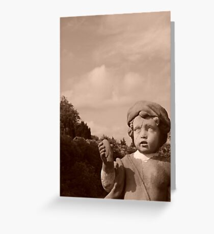 Dont Blink!! Greeting Card