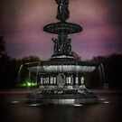 Bethesda Fountain at Night by Chris Lord