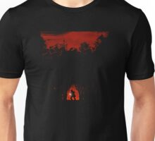 Evil in the woods Unisex T-Shirt